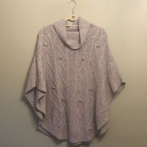 Talbots Sweater Poncho